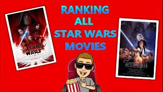 Ranking the Star Wars Movies (Worst to Best)