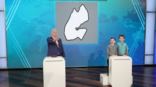 Henry Winkler Plays 'Are You Smarter Than Two Kid Geography Experts?'