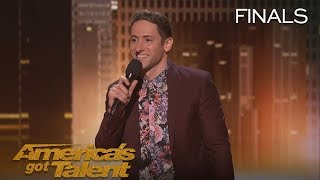 Samuel J Comroe: Comedian Tells Funny Story About His Tourette Syndrome - America's Got Talent 2018