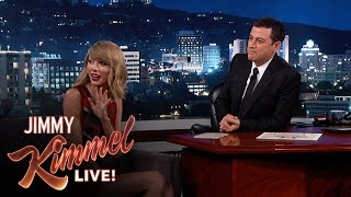 Taylor Swift Gets Revenge on Kimmel Music Booker