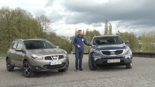 Nissan Qashqai kontra Kia Sportage - który używany SUV będzie lepszym wyborem