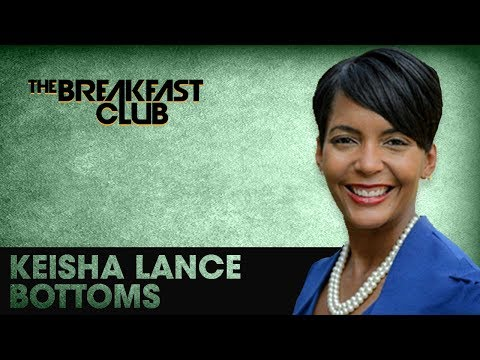 Keisha Lance Bottoms Discusses Her Race For Mayor Of Atlanta