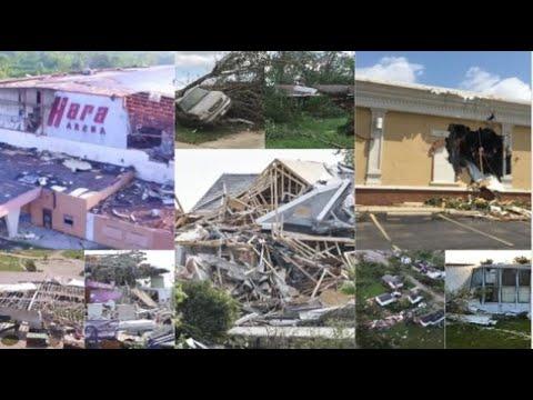 COMPILATION: Tornado damage across Dayton region