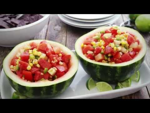 Summer Recipes - How to Make Watermelon and Corn Salsa