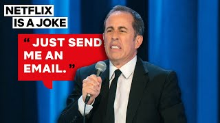 Jerry Seinfeld's Had Enough of Phone Calls | Netflix Is A Joke