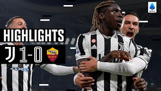 Juventus 1-0 Roma | Kean Goal Secures 4th Successive Win! | Serie A Highlights