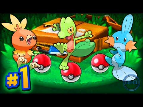 Pokemon Omega Ruby and Alpha Sapphire - Part #1 w/ Ali-A LIVE!