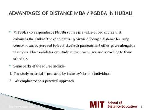 Distance Management Courses | Correspondence MBA | Distance MBA in Hubali