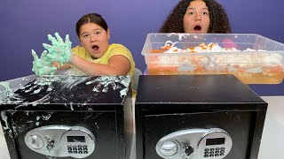 Mystery Safe Slime Switch - Up Challenge!