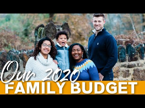 Our 2020 Family Budget | How to Budget Your Money