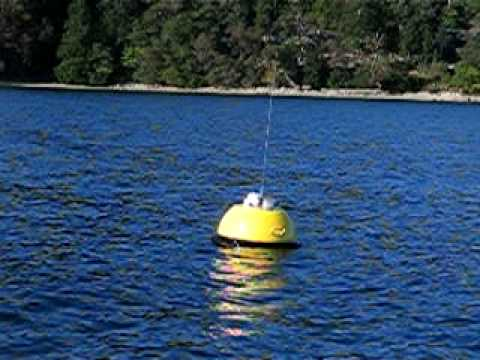 AXYS TRIAXYS Mini Directional Wave Buoy Deployed