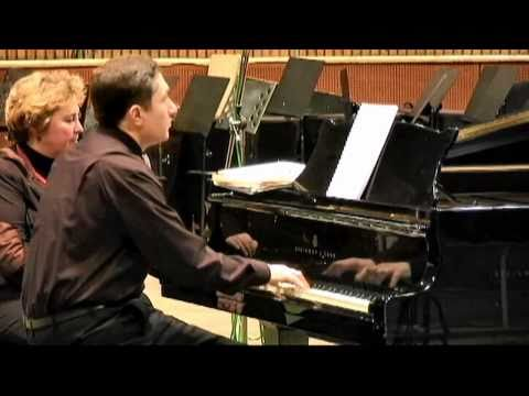 G.Sviridov, Waltz & March,  Alexander Blok, piano