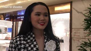 Dân mạng chê tơi tả lối make up, trang phục của QUỲNH ANH - Vợ DUY MẠNH tại GALA QUẢ BÓNG VÀNG 2020