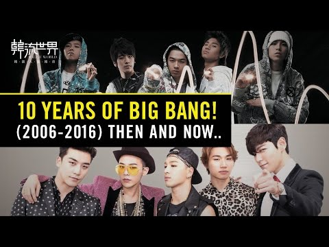 10 Years of BIGBANG ! (Anniversary Special)