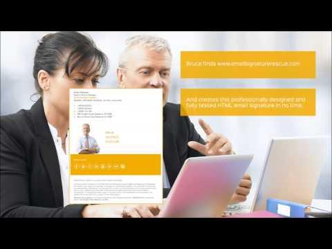 Email Signature Rescue - Explainer Video