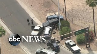 Dramatic Police Chase and Deadly Shootout After Bank Robbe..