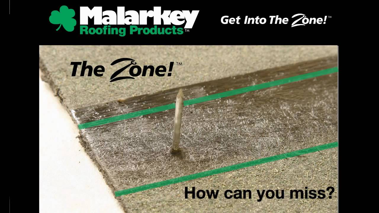 Malarkey Roofing The Zone Youtube