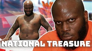 Derrick Lewis being hilarious for 3 minutes..