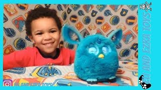 Furby Connect mobile game toy review like furby organ