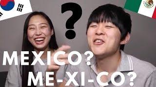 LOS COREANOS QUIEREN SABER ESTO DE MEXICO