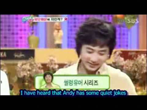 shinhwa Shin Hyesung talks about Andy Eng Sub