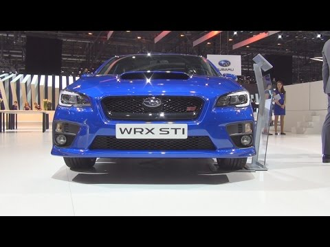 Subaru WRX STI 2.5T AWD Sport S (2016) Exterior and Interior in 3D