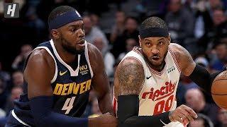 Portland Trail Blazers vs Denver Nuggets - Full  Highlights   December 12, 2019   2019-20 NBA Season