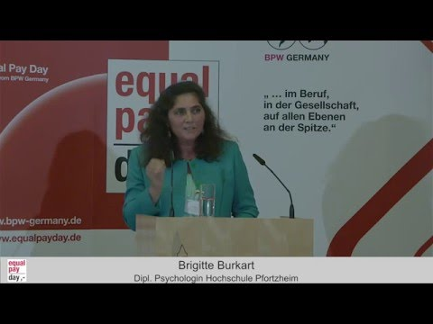Brigitte Burkart | Equal Pay Day Forum am 10.11.2015 in Frankfurt am Main