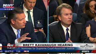 "MUST WATCH: Ted Cruz Grills Democrats On ""Hypocritical"" Views On Brett Kavanaugh"