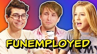 WE'RE PLAYING FUNEMPLOYED! (Squad Vlogs)