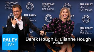 An Evening with Derek Hough and Julianne Hough - Purpose