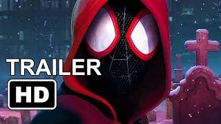 SPIDER-MAN : Into the Spider-verse Trailer (2018) First Miles Morales Spiderman Movie