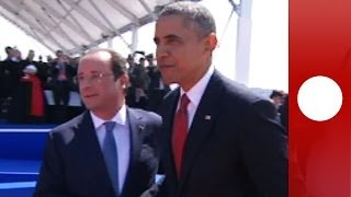 D-Day International ceremony: Obama, Putin, Elizabeth II