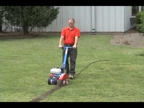 Amazingly Fast Drip Irrigation Installer Machine Youtube