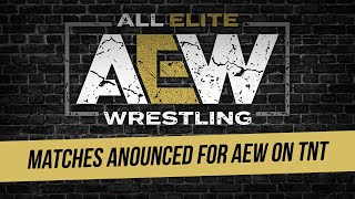 Matches Announced For AEW In Pittsburgh & Charleston
