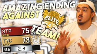 AMAZING ENDING TO PRO-AM GAME vs ELITE 4 TEAM! 98 OVERALL PURE SHOT CREATOR GAMEPLAY in NBA2K18!