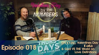 """Ep. 018 """"Shocking Valentines Day Data & God VS THE World on Love Definitions"""""""