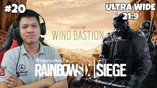 """SLEDGE Power in FORTRESS!!"" Rainbow Six Siege Part 20 (UltraWide 21:9)"