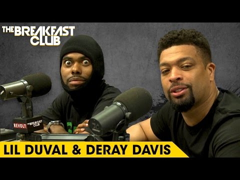 Lil Duval & DeRay Davis Get Wild On The Breakfast Club, Talk 'Grow House' & More