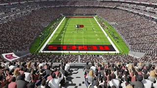 Inside the new NFL stadium in Las Vegas – Raiders