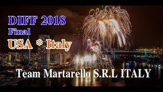 DIFF 2018 chung kết | đội pháo hoa Italy