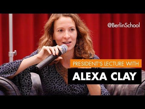 Public Lecture Alexa Clay