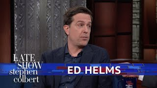 Ed Helms And Stephen Debate: Should You Knock?
