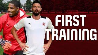 Giroud & Maignan First Training | Pre-season 2021-22