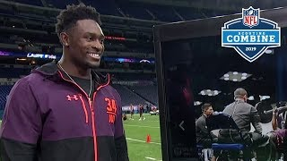 """D.K. Metcalf Talks About His Ridiculous Combine Workout, """"I wanted to do better"""" 