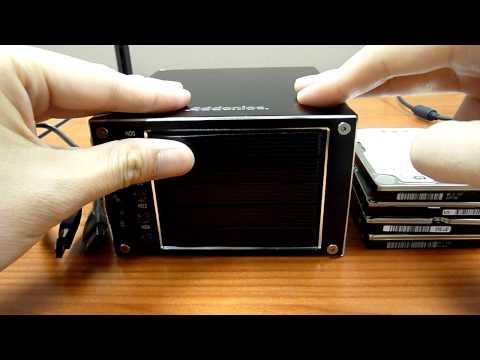 Addonics Compact RAID - Installing Hard Drives (3 of 8)