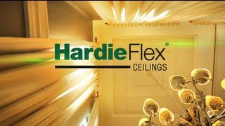 HardieFlex ceilings Installation Video