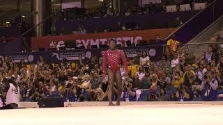Simone Biles - Floor Exercise - 2018 World Championships - Women's Team Final