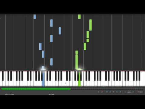 Synthesia Piano  我愛的人 (原唱: 陳小春, 翻唱: 林宥嘉) 鋼琴版