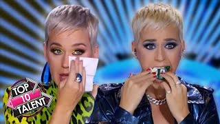 TOP 10 BEST And FUNNIEST Katy Perry Moments On American Idol!